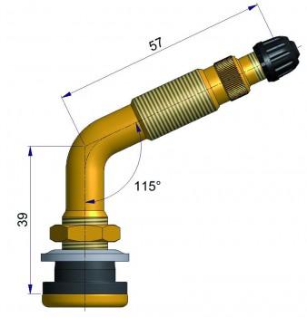 Вентиль TR 623 A  S-4020-1